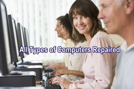 Computer repair in Oklahoma City, Edmond, Moore, Norman.
